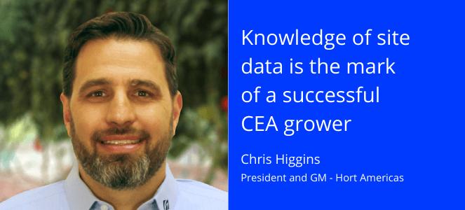 Chris Higgins - President and GM of Hort Americas headshot